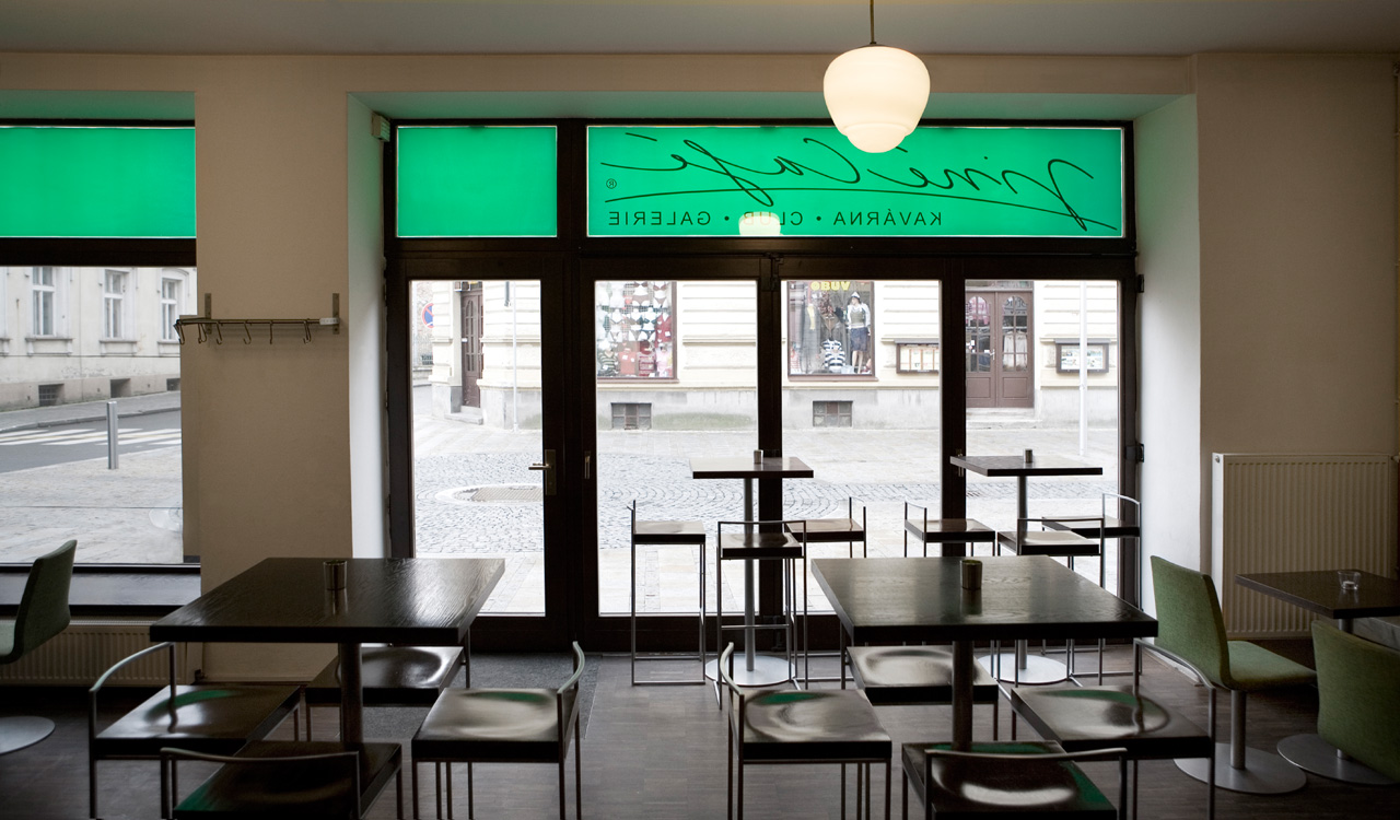 plan 3 kuchyně / Ине Кафе (Jiné Café) I в Угерском Градиште / Добро пожаловать домой