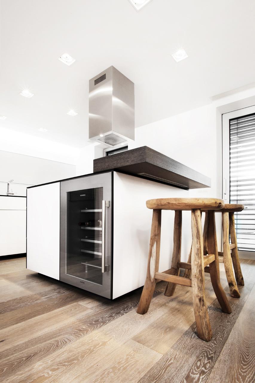 plan 3 kuchyně / Plánování a výroba luxusní kuchyně do rodinného domu v Luhačovicích / Krása a kontrast