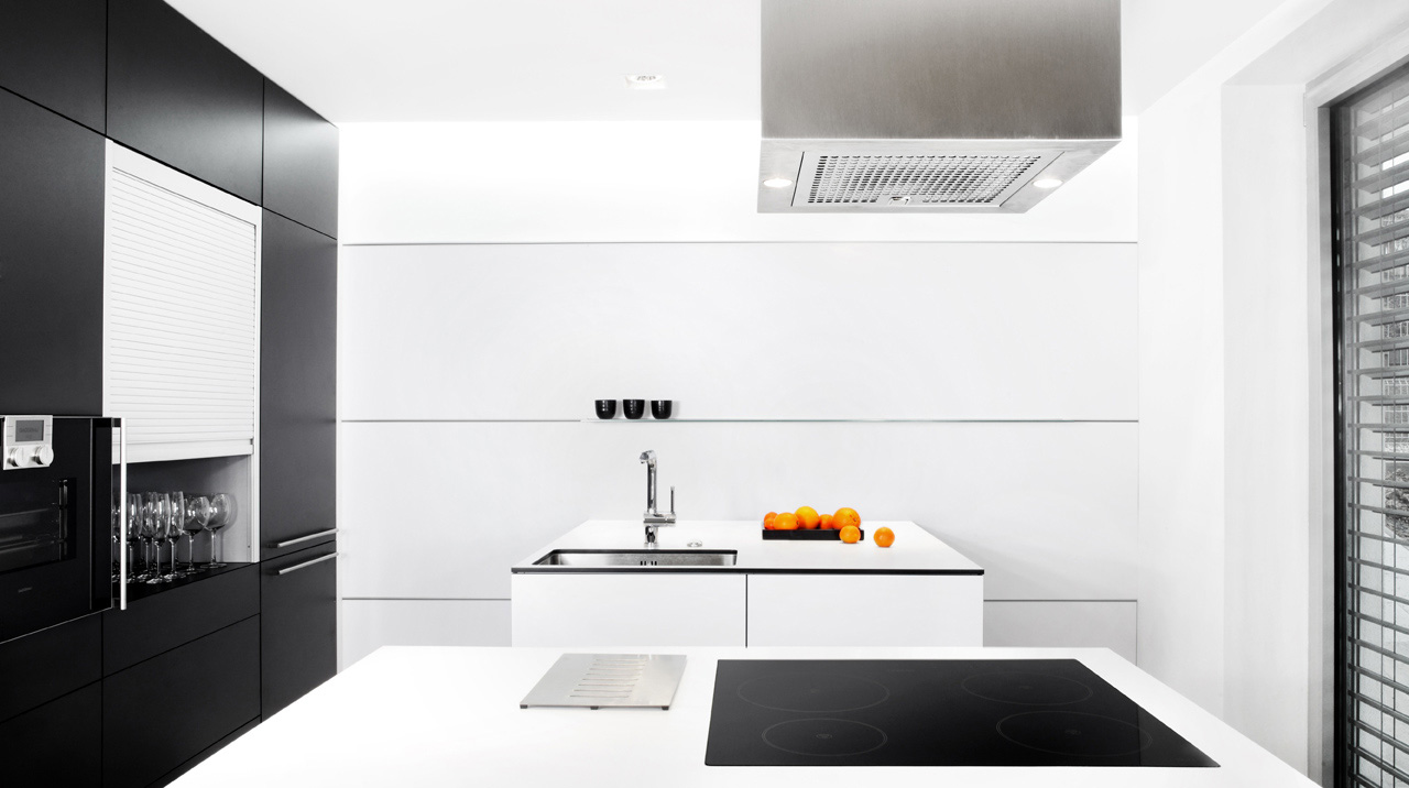 plan 3 kitchens / Family house in Luhacovice / Beauty and contrast