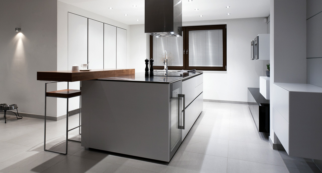 plan 3 kitchens / Family house in Uherske Hradiste / Cosmopolitan building