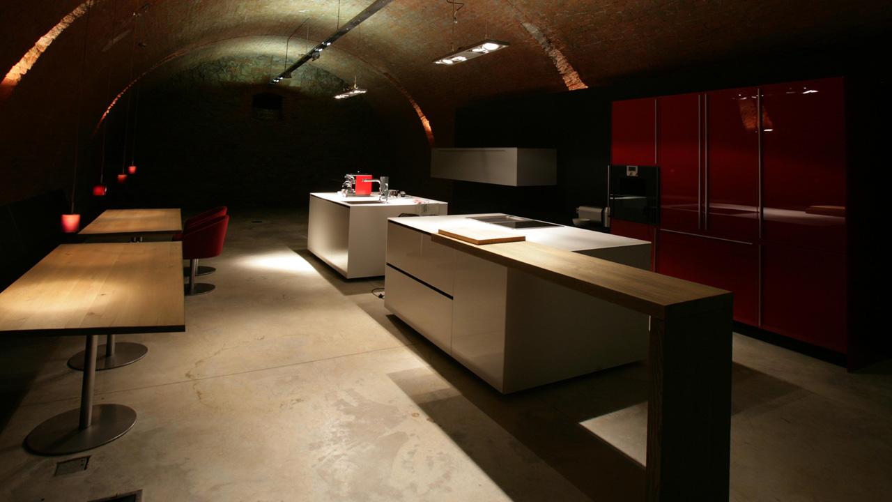 plan 3 kuchyně / Kuchyně od Valcucine boří linie /
