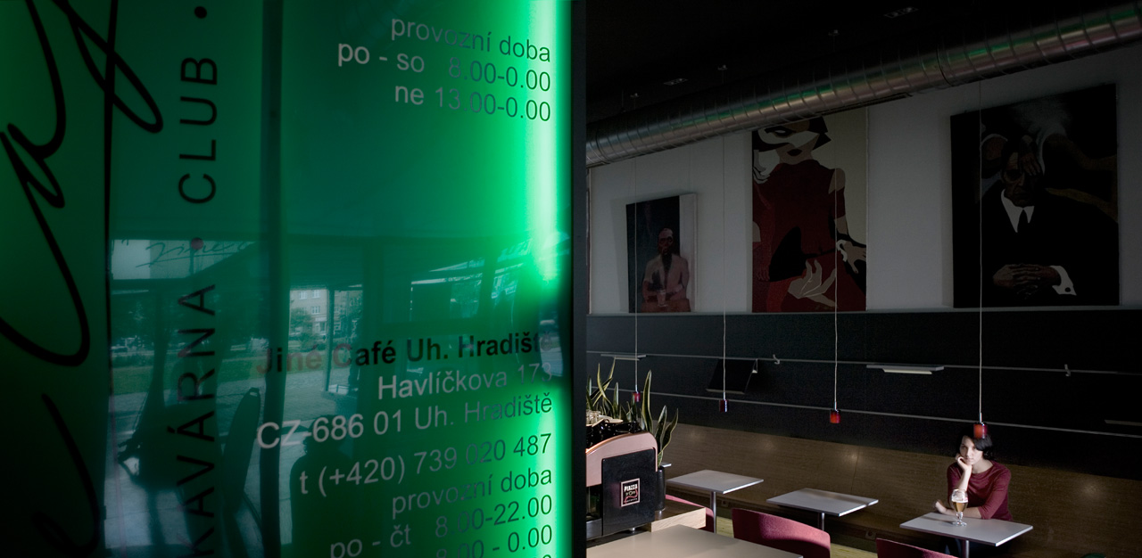 plan 3 küche / Jiné Café in Zlín / Zlíner Funktionalismus