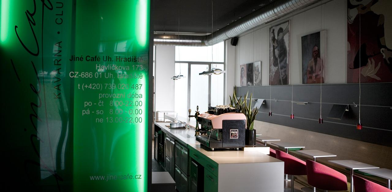 plan 3 kitchens / Jiné Café in Zlin / Zlin Functionalism