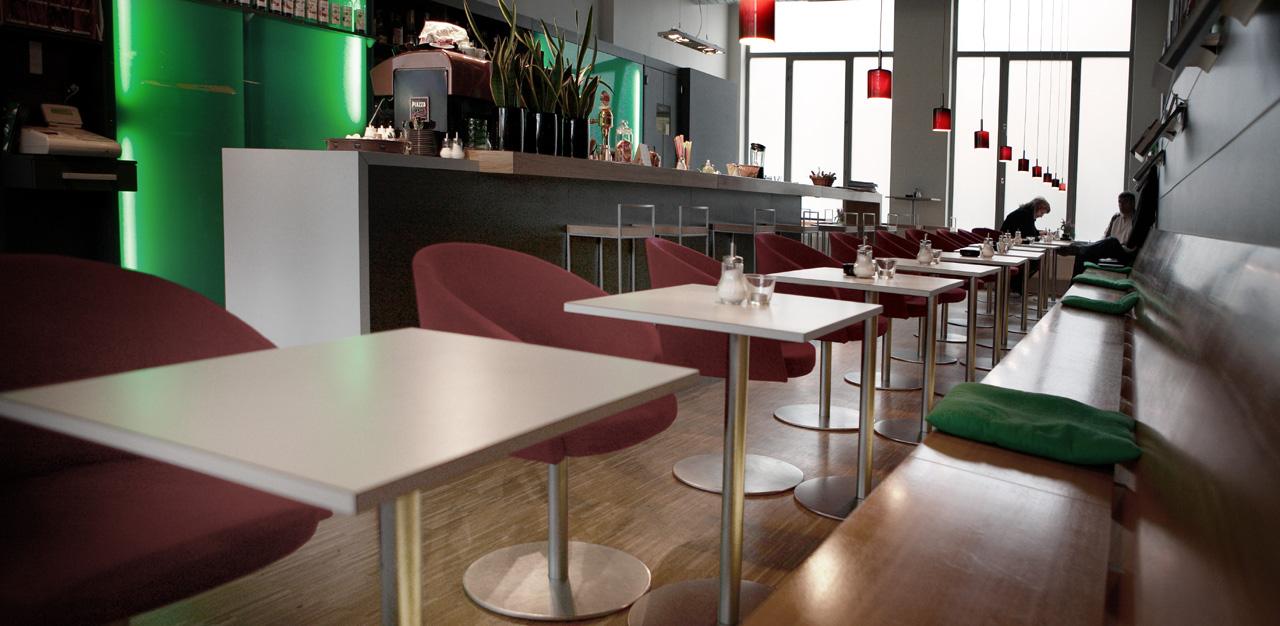 plan 3 kuchyně / Ине Кафе (Jiné Café) Злин / Функционализм Злина