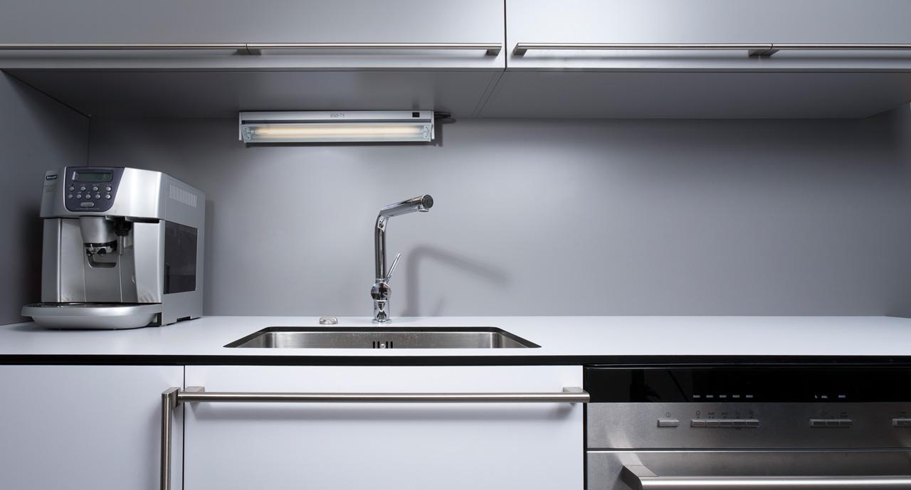 plan 3 kuchyně / Design a funkčnost v kuchyni na zakázku / Méně znamená více