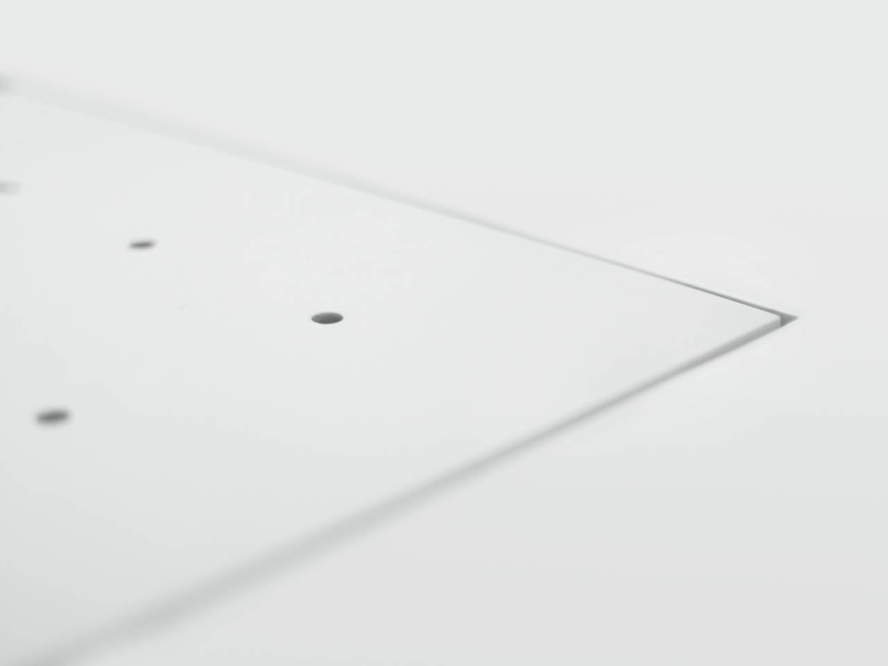 plan 3 kuchyně / Moderní minimalistické bydlení / Homogenní design
