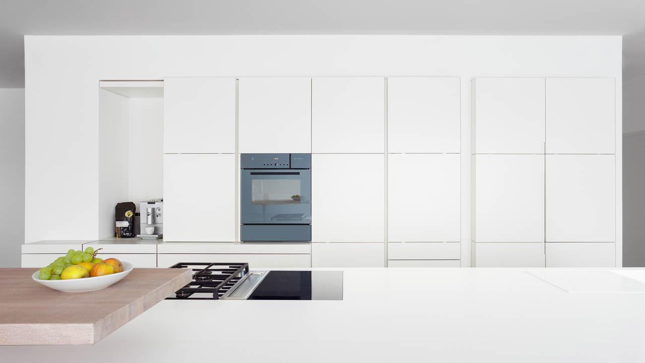 plan 3 küche / Modernes minimales Wohnen / Homogenes Design