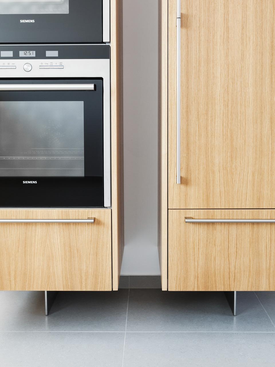 plan 3 kuchyně / Jednoduchý kuchyňský design / Krásný výhled