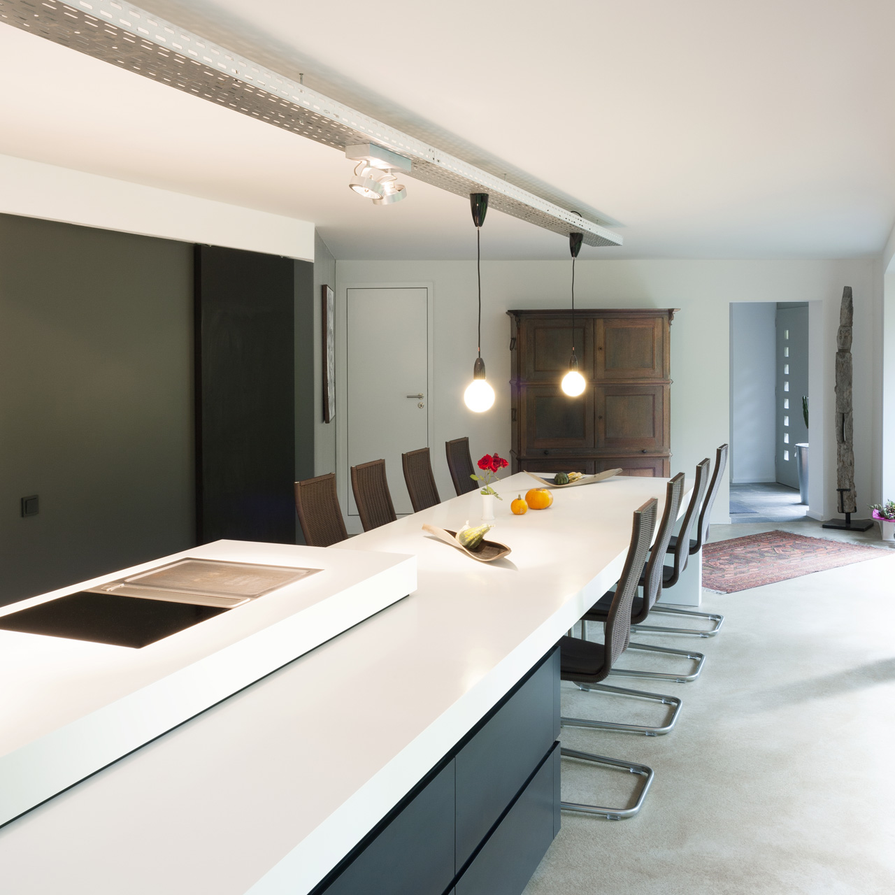 plan 3 küche / V4 / Wohnen in der Natur
