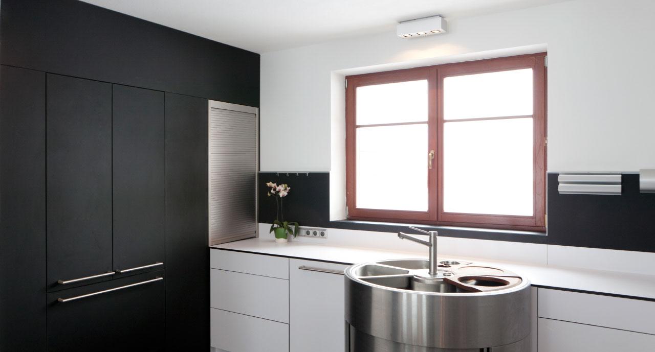 plan 3 küche / Tománek / Maximale Individualität