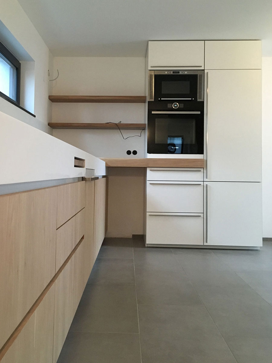 plan 3 kitchens / Vetterovi / Kitchen unit made in our manufactory