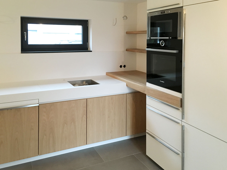 plan 3 kuchyně / Семья Vetter / Встроенная кухня из мануфактуры