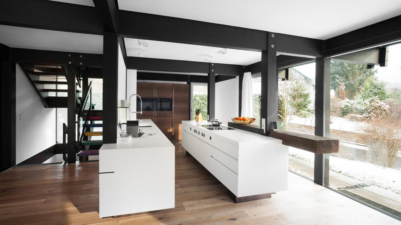 plan 3 küche / Holighaus / Modernes fachwerk