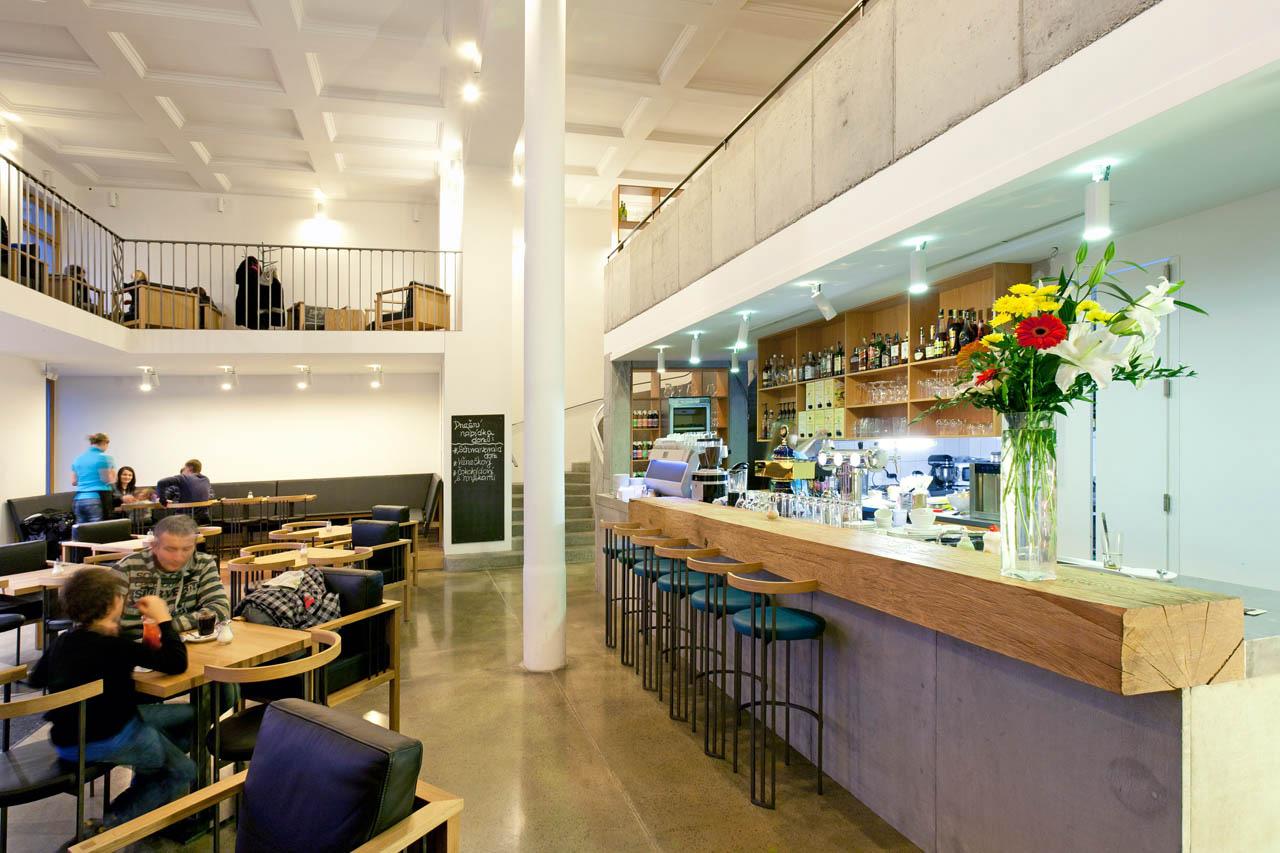 plan 3 küche / Jiné Café II. in Uherské Hradiště / Grüße vom Chamäleon