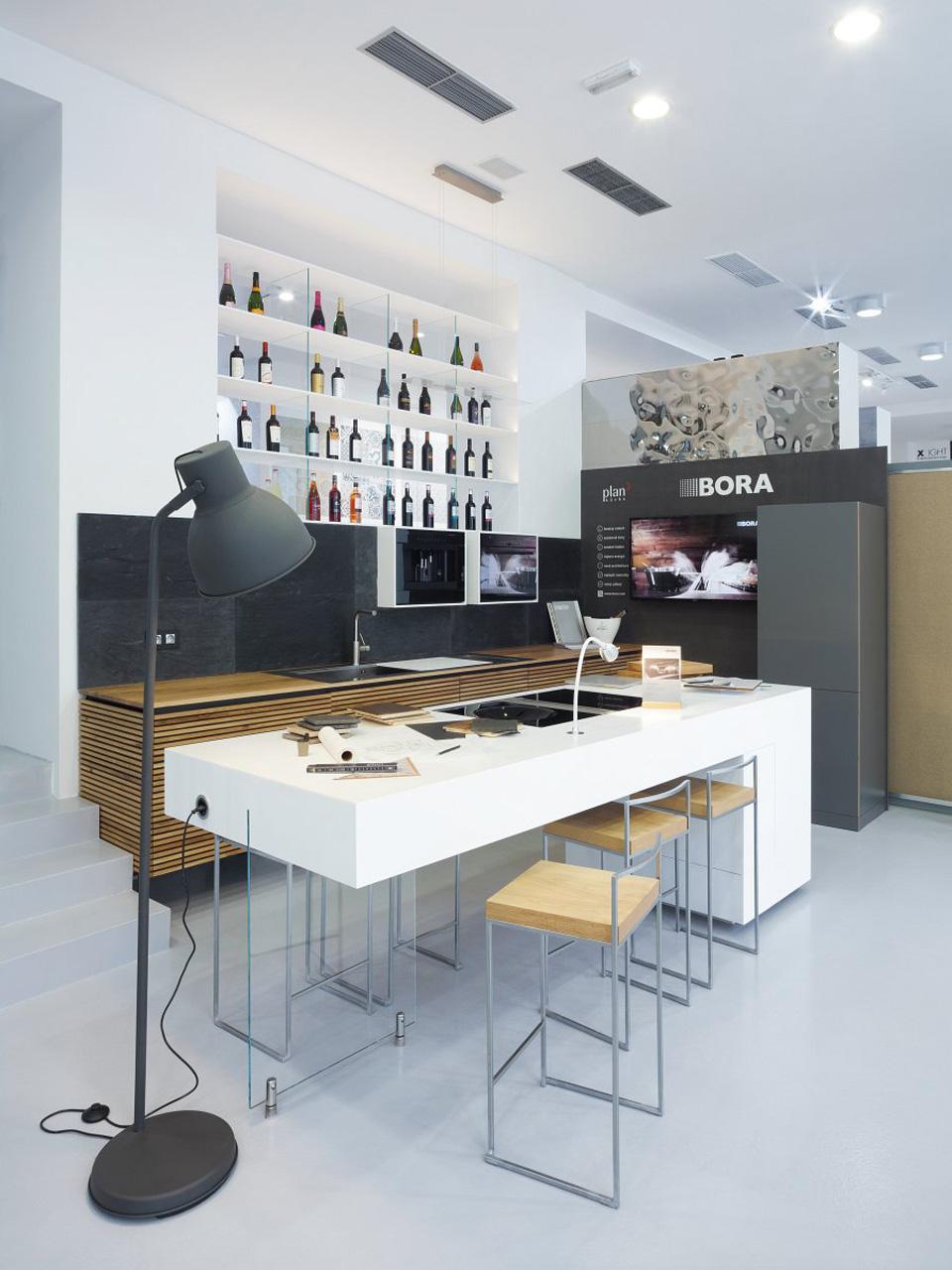 plan 3 kuchyně / Showroom Praha / plan 3 u Los Kachlos