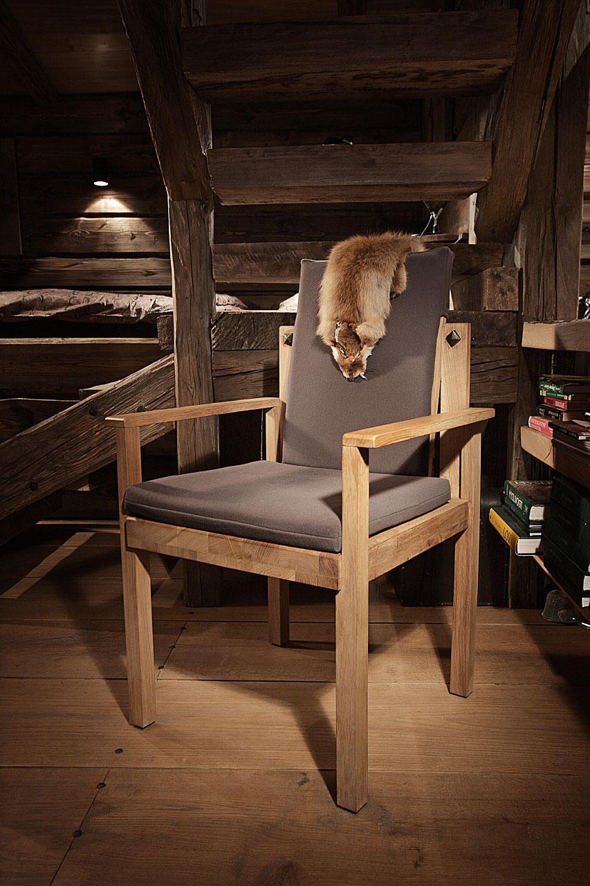 plan 3 kuchyně / Výroba nábytku z masivního dřeva na loveckou chatu / Archetyp