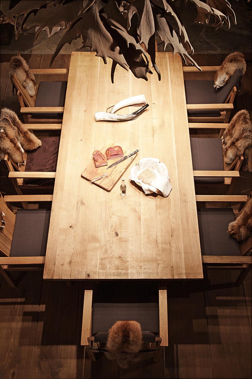 plan 3 küche / Jägerhütte / Archetyp