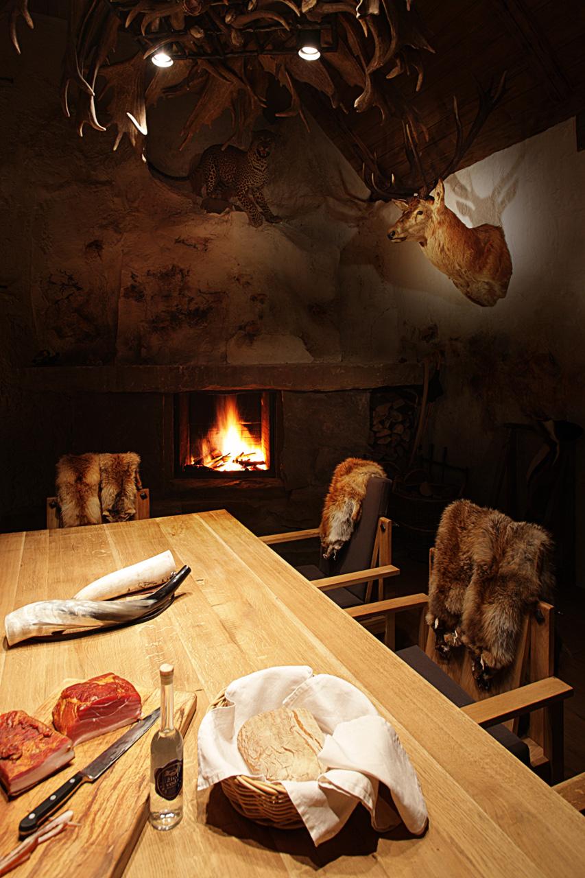 plan 3 kitchens / Hunting lodge / Archetype