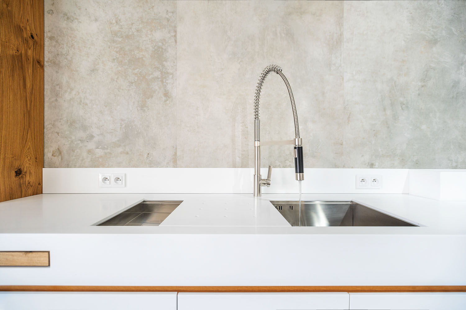 plan 3 kitchens / plan 3 kitchen Showroom in Zlin / kitchen with a potential to become a trend
