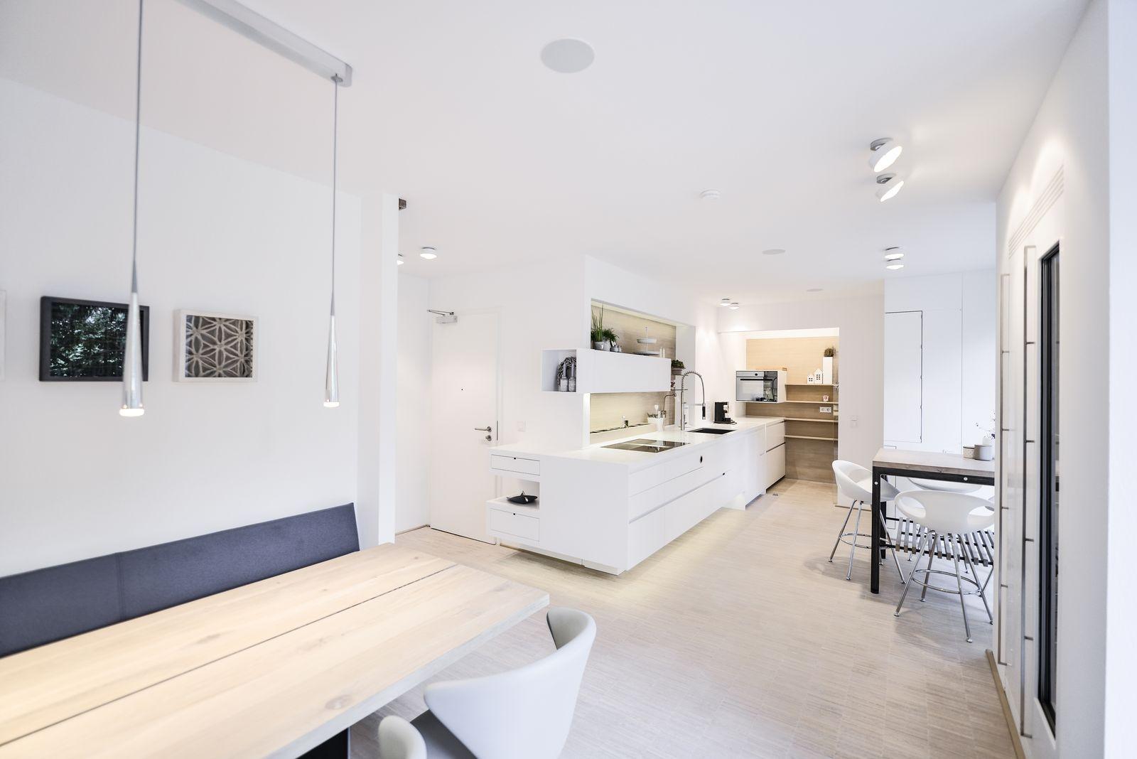 plan 3 kitchens / Renovation of an above-ground bunker in Siegen / Apartment W