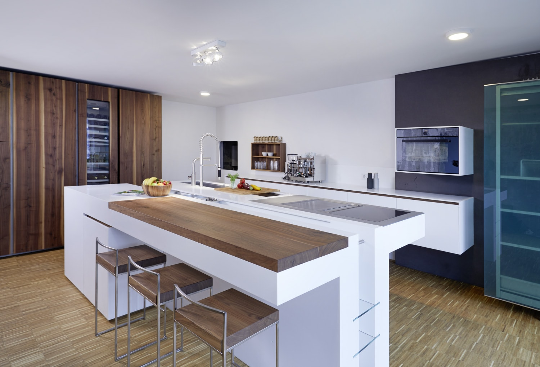 plan 3 kitchens / Plan 3 show kitchen / Professional kitchen