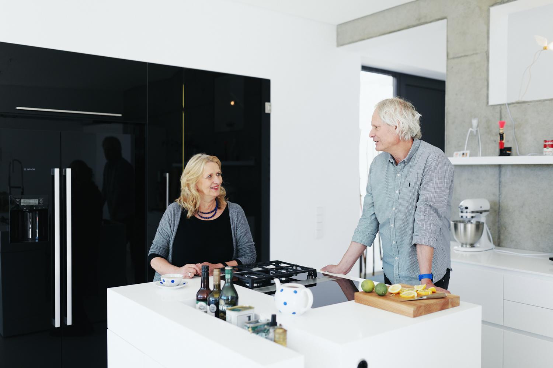 plan 3 küche / Architekt Werner Seelbach / Klares Design