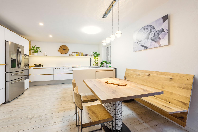 plan 3 küche / Küche Ahorn / Raffinessen der Natur