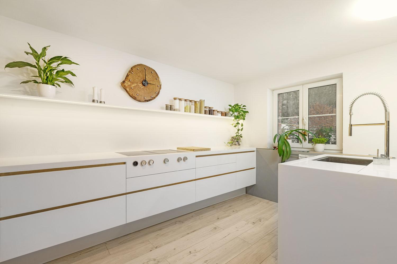 plan 3 kuchyně / Кухня КЛЕН / Стильная комбинация вне времени