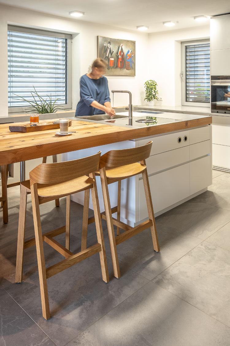 plan 3 küche / Wochenendhaus Osvetimany / Küche in der Natur