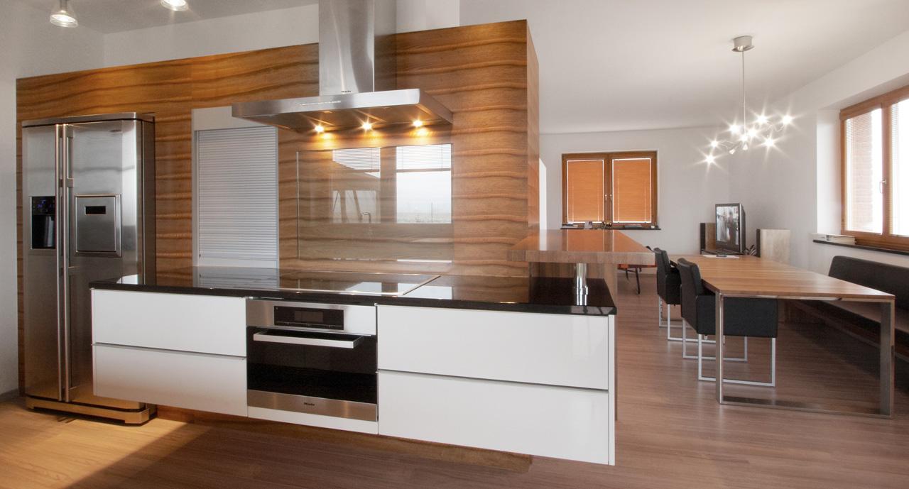 plan 3 kuchyně / Elegance v kuchyni s neobyčejnou lehkostí / minimalisticka kuchyně