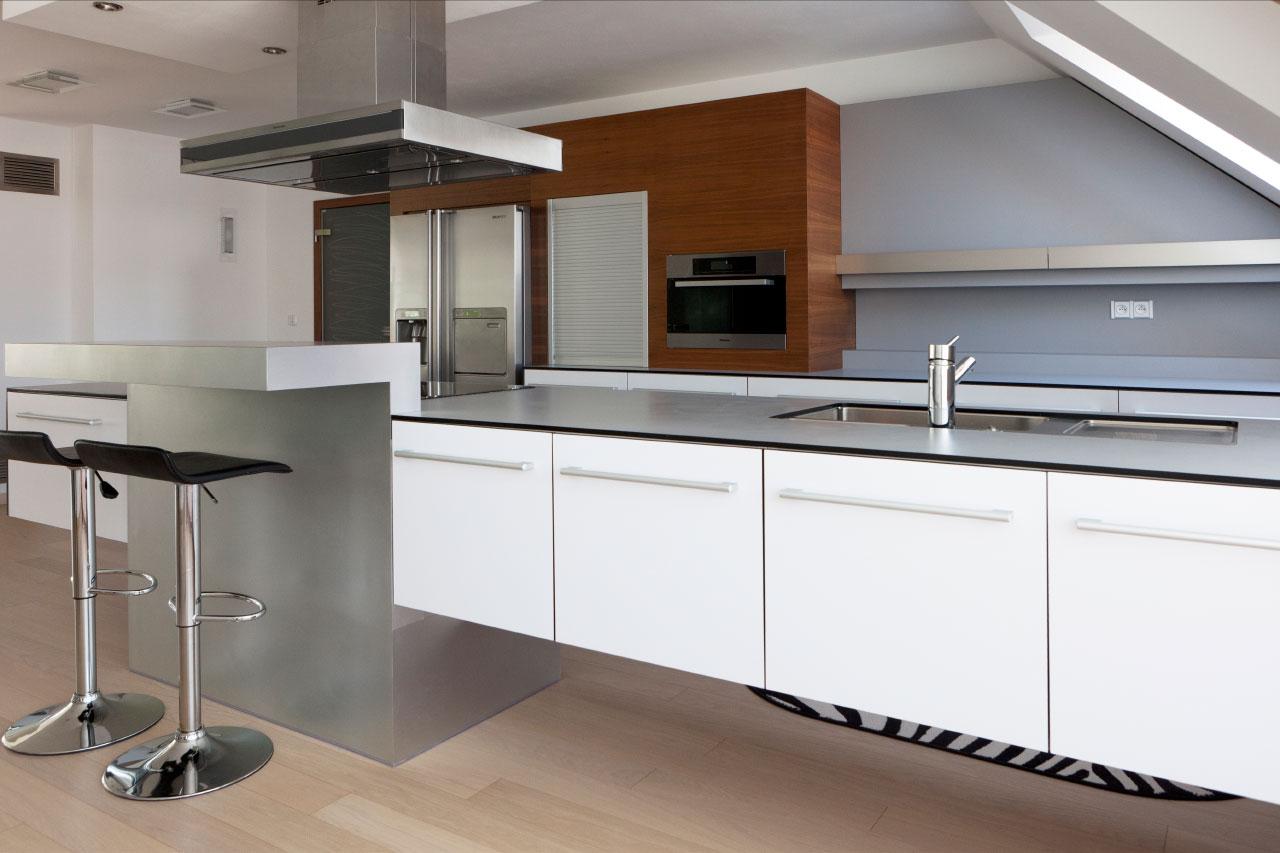 plan 3 küche / Familie Veselí / Anfertigung nach Maß