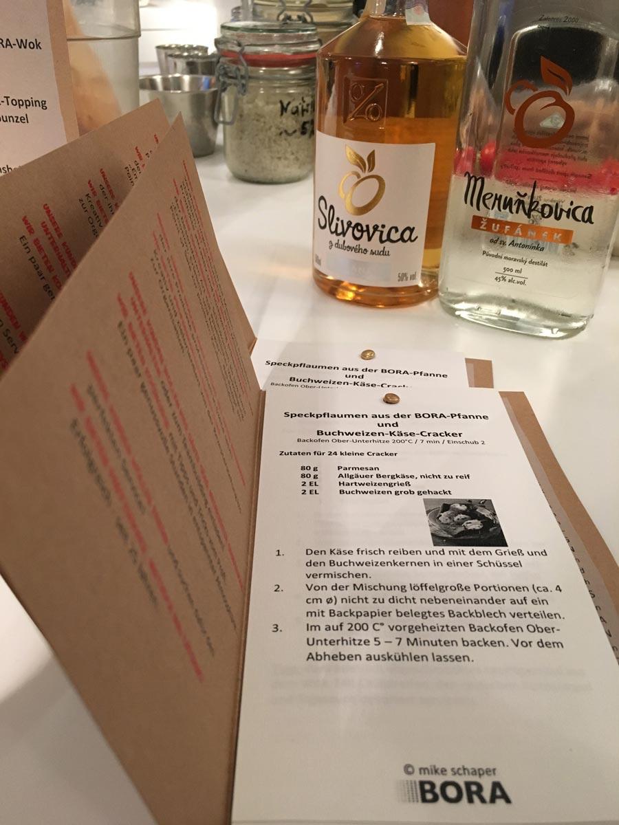 plan 3 kuchyně / Кулинарное шоу BORA / BORA
